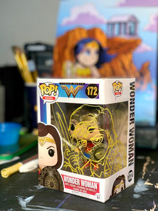 Wonder Woman Sword & Sheild Funko Pop Mark-Up
