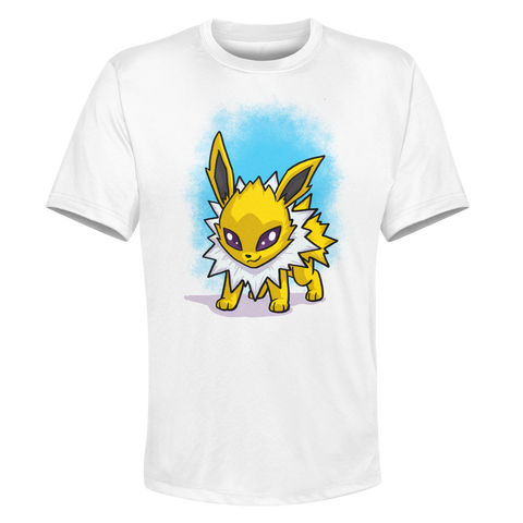 Jolteon - White Performance Graphic Tee