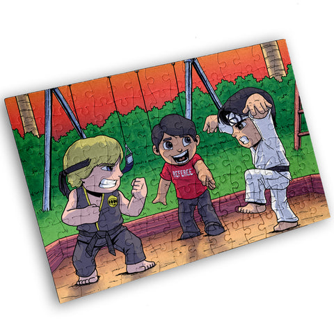 Karate Kids - 120 Piece Jigsaw Puzzle