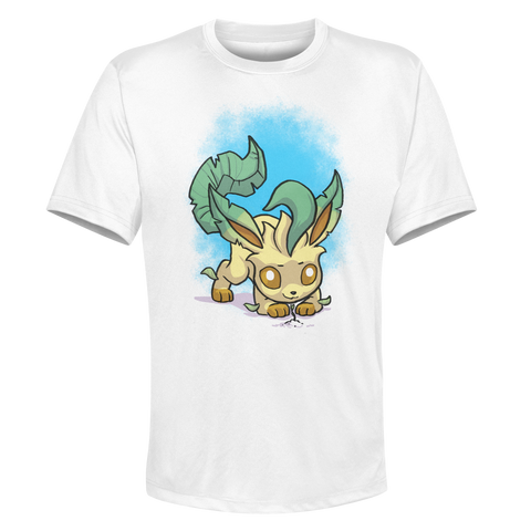 Leafeon - White Performance Graphic Tee