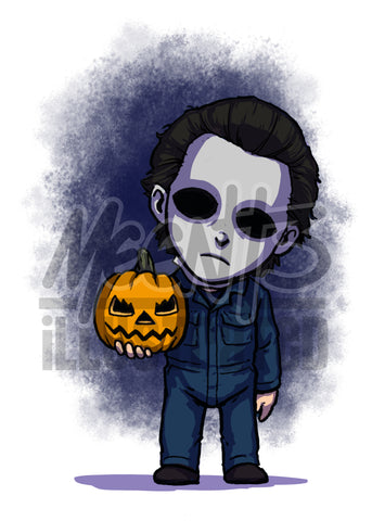 Michael Myers - 5x7 Mini Print