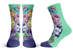 My Little Pony - Streetwear Full Poly Crew Socks