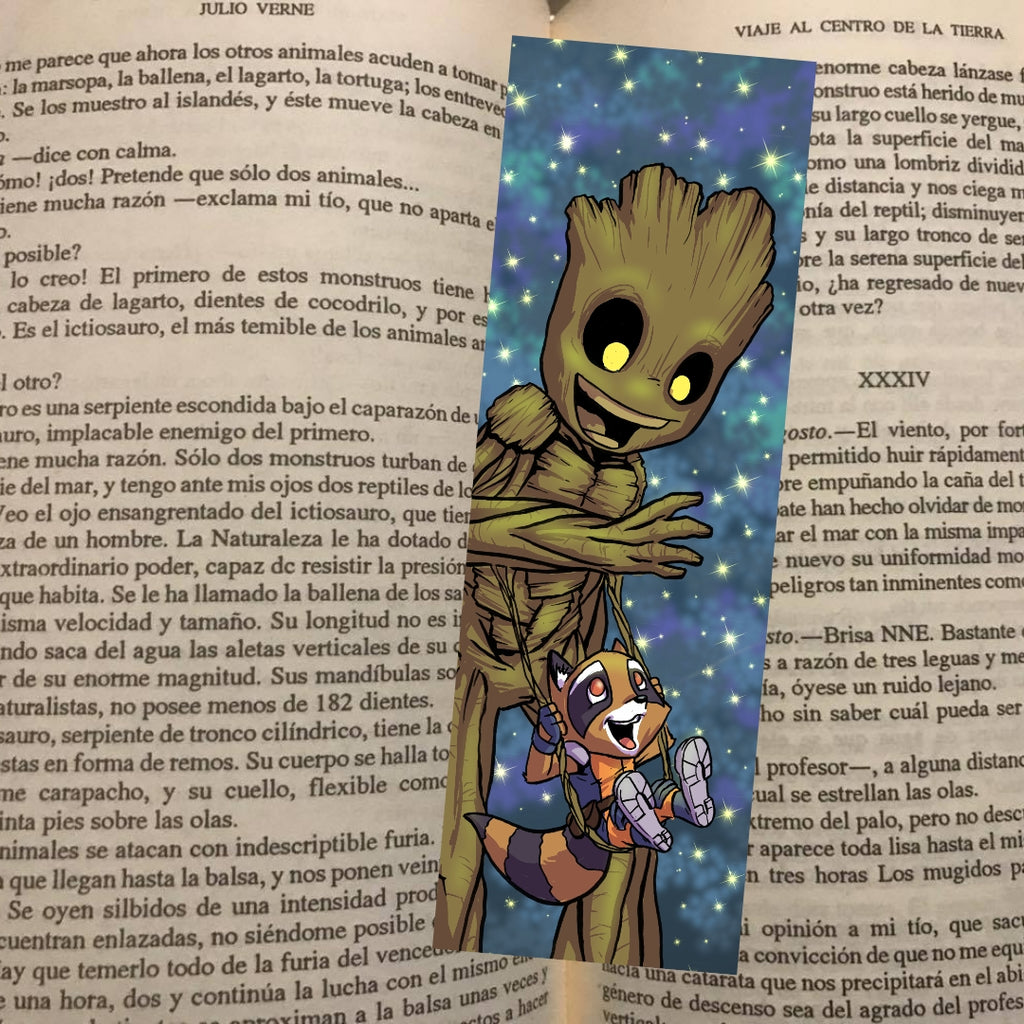 Rocket & Groot- Bookmark
