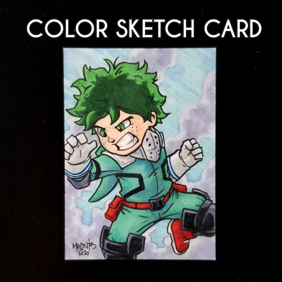 Sketch Card Colored Commission