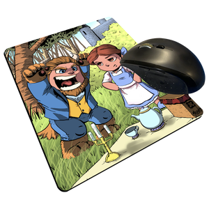 "Picnic - Custom Graphic ""Thin"" Mouse Pad"