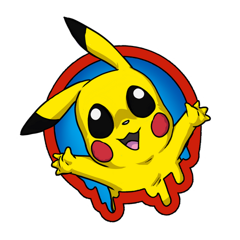 "Pika - Spotlight Series - Small 2"" Sticker"