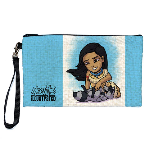 Pocahontas - Character - Large Pencil/Device Bag