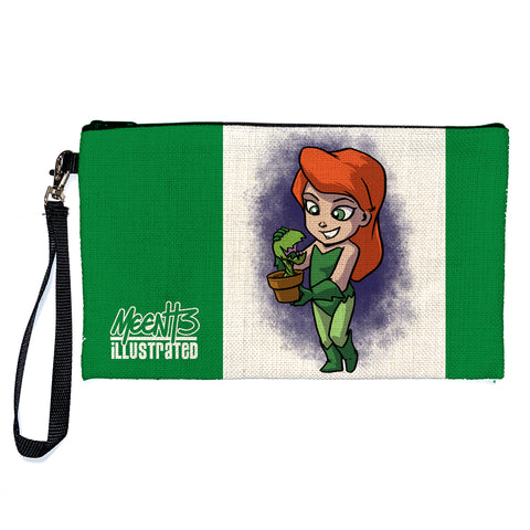 Poison Ivy - Character - Large Pencil/Device Bag