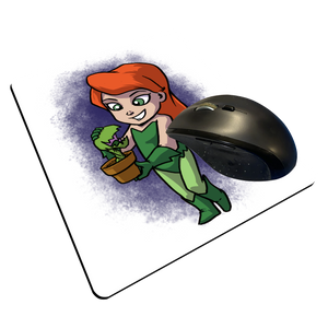 "Poison Ivy - Custom ""Thin"" Mouse Pad"