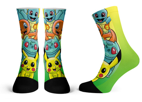 Pokemon - Streetwear Full Poly Crew Socks