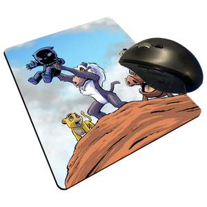 "Pride Rock - Custom Graphic ""Thin"" Mouse Pad"