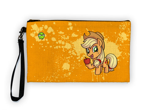 Applejack - Meents Illustrated Authentic Large Pencil/Device Bag