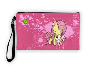 Fluttershy - Meents Illustrated Authentic Large Pencil/Device Bag