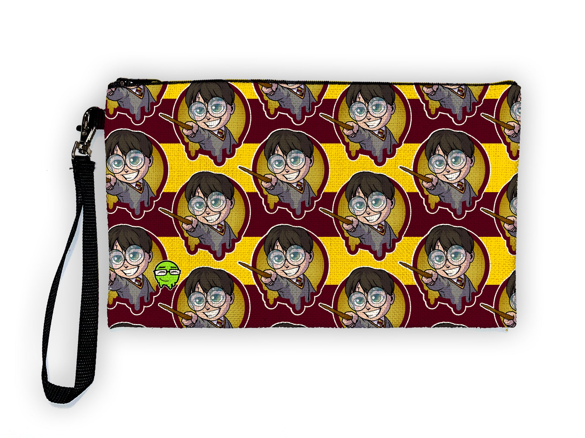 Harry Potter Pattern - Meents Illustrated Authentic Large Pencil/Device Bag
