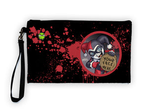 Harley - Meents Illustrated Authentic Large Pencil/Device Bag