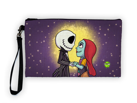 Jack & Sally - Meents Illustrated Authentic Large Pencil/Device Bag
