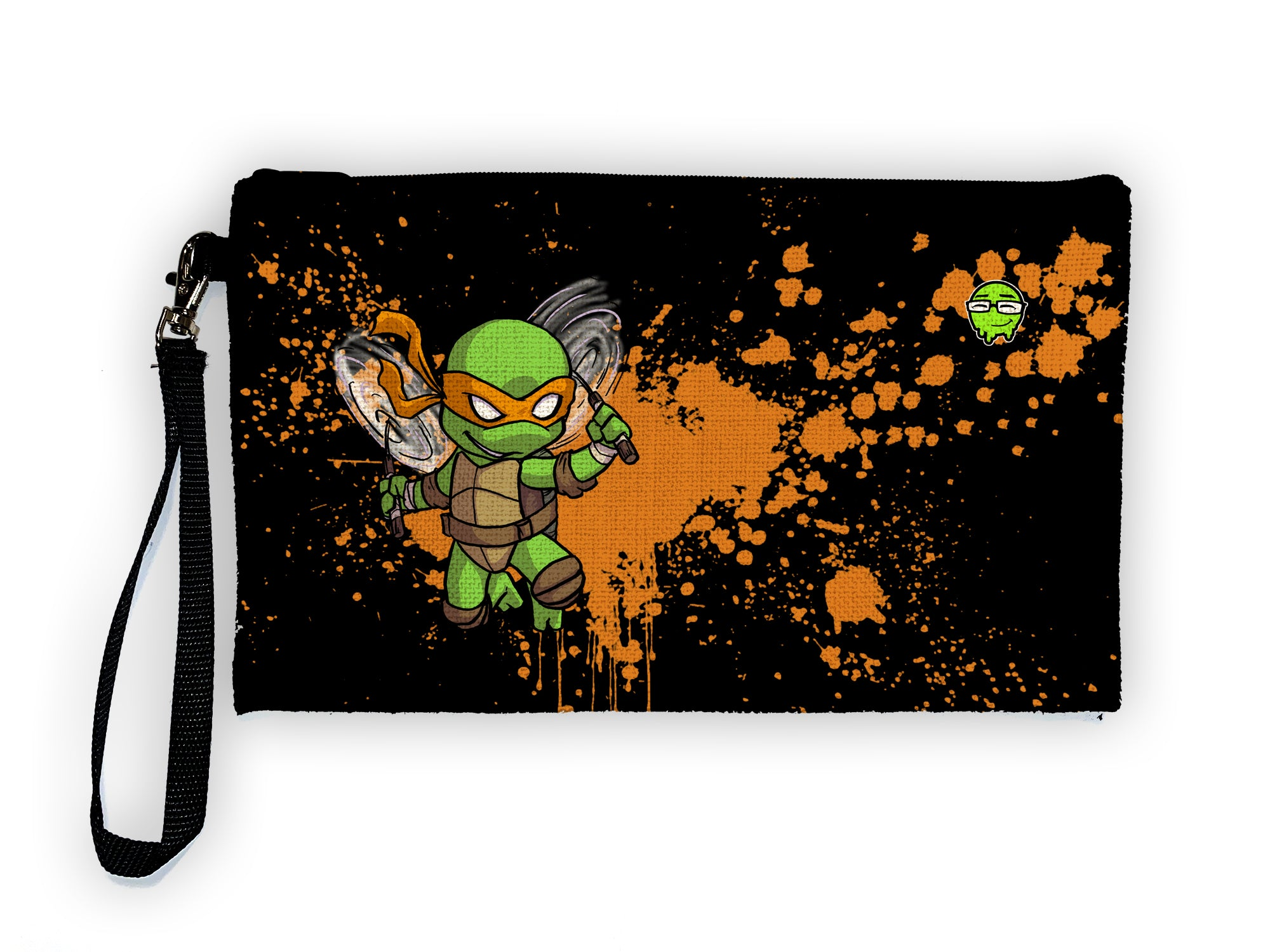 Mikey - Meents Illustrated Authentic Large Pencil/Device Bag