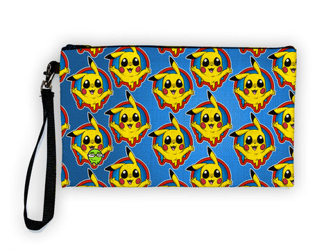 Pika Pattern - Meents Illustrated Authentic Large Pencil/Device Bag