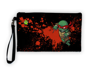 Raph - Meents Illustrated Authentic Large Pencil/Device Bag