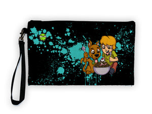 Shaggy & Scooby - Meents Illustrated Authentic Large Pencil/Device Bag