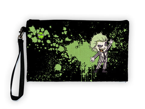 Beetleguice - Meents Illustrated Authentic Large Pencil/Device Bag