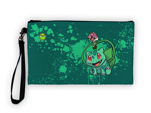 Bulbasaur - Meents Illustrated Authentic Large Pencil/Device Bag