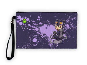 Catwoman - Meents Illustrated Authentic Large Pencil/Device Bag