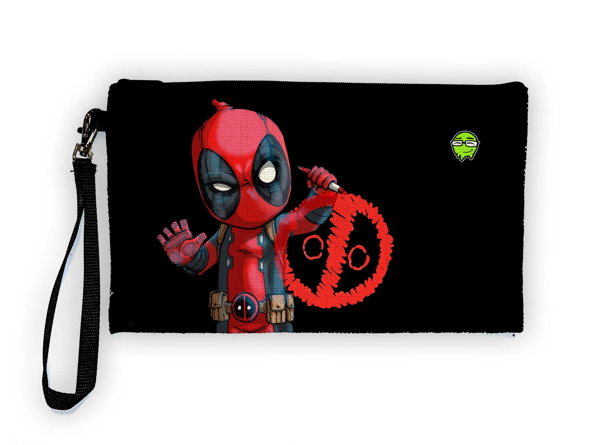Deadpool - Meents Illustrated Authentic Large Pencil/Device Bag