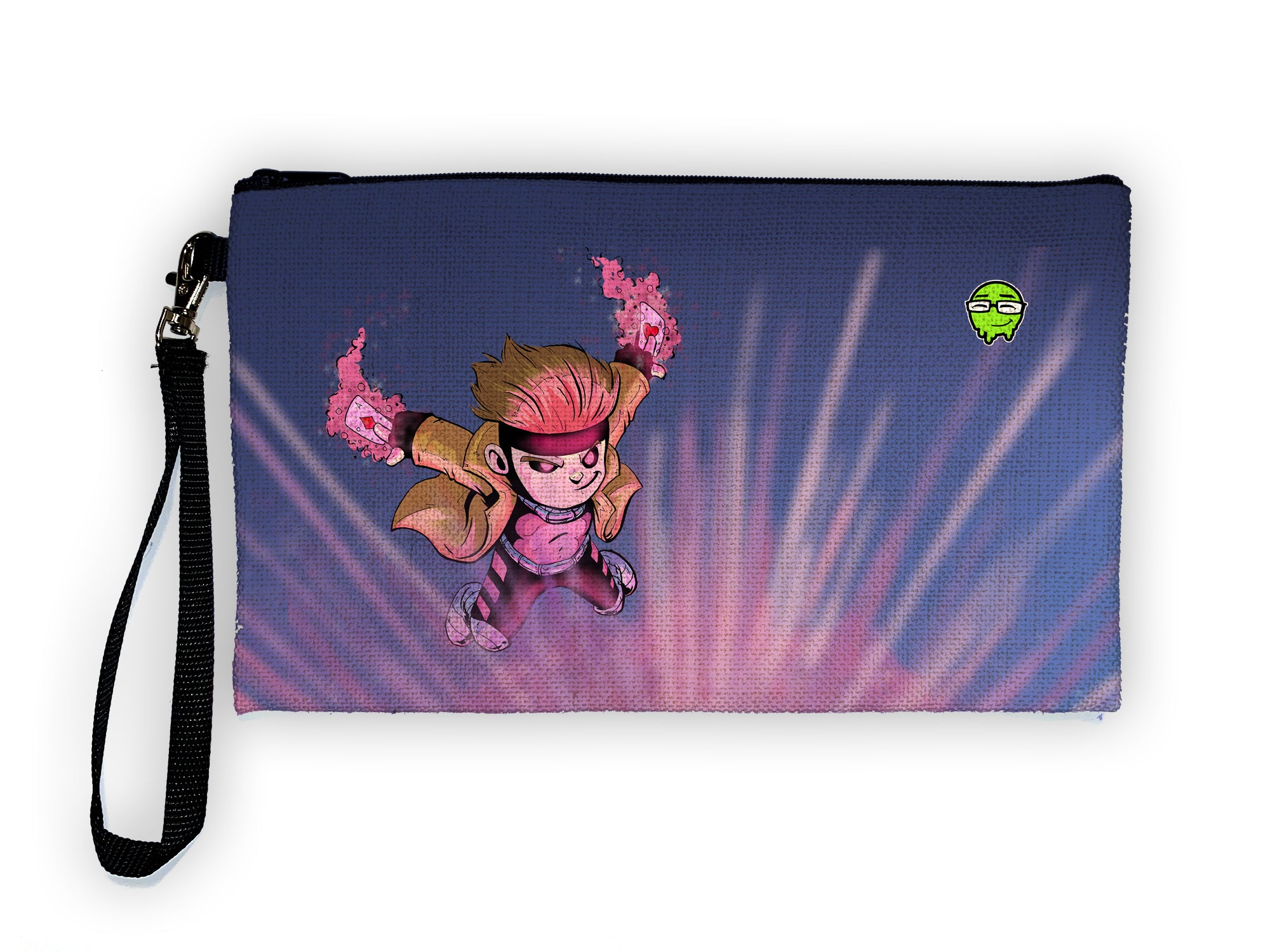 Gambit - Meents Illustrated Authentic Large Pencil/Device Bag