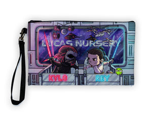 Kylo & Rey - Meents Illustrated Authentic Large Pencil/Device Bag