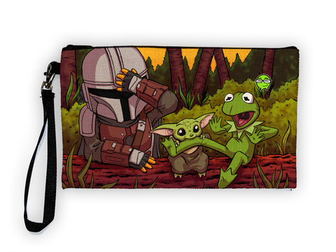Mando - Meents Illustrated Authentic Large Pencil/Device Bag