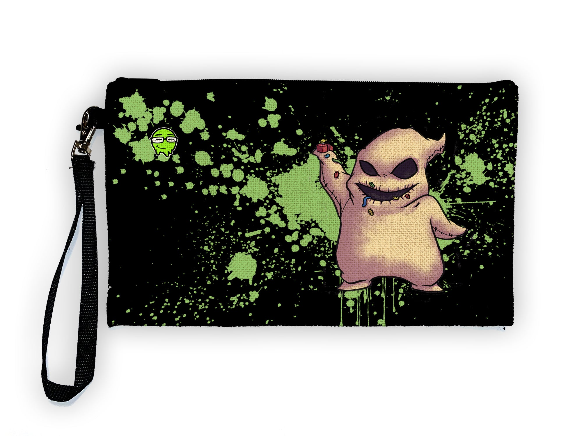 Oogie Boogie - Meents Illustrated Authentic Large Pencil/Device Bag