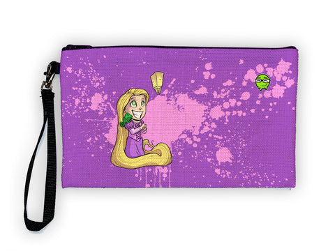 Rapunzel - Meents Illustrated Authentic Large Pencil/Device Bag