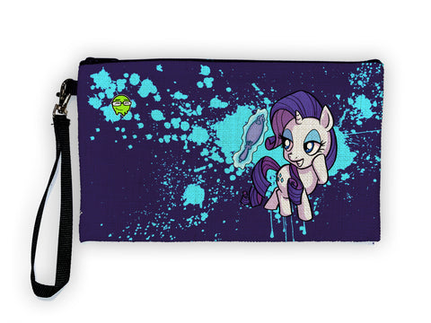 Rarity - Meents Illustrated Authentic Large Pencil/Device Bag