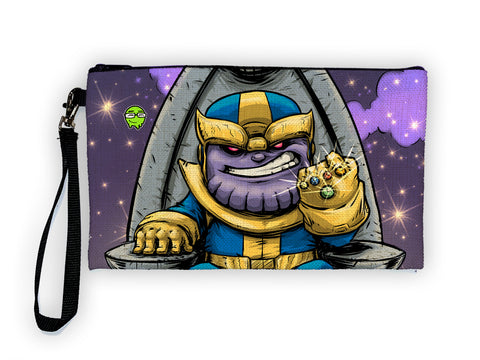 Thanos - Meents Illustrated Authentic Large Pencil/Device Bag