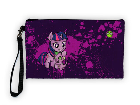 Twilight Spike - Meents Illustrated Authentic Large Pencil/Device Bag
