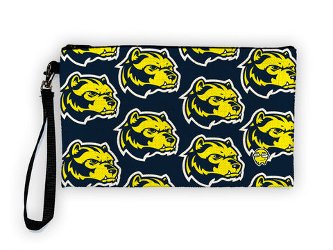 Wolverine Pattern - Meents Illustrated Authentic Large Pencil/Device Bag