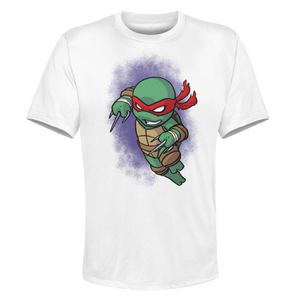 Raph - White Performance Graphic Tee