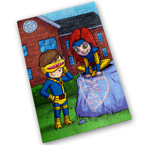 Scott & Jean - 120 Piece Jigsaw Puzzle