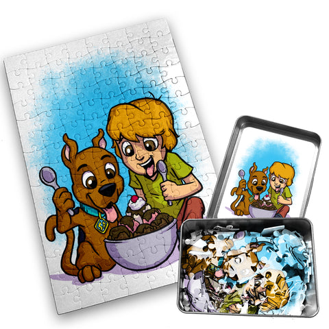 Shag and Scooby - Character - 120 Piece Jigsaw Puzzle