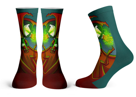 Spawn - Streetwear Full Poly Crew Socks