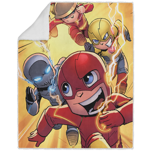 Speed Force - Graphic - 50x60 Sherpa Blanket