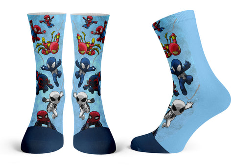 Spiders - Streetwear Full Poly Crew Socks