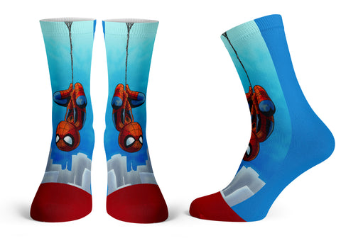 Spidey - Streetwear Full Poly Crew Socks
