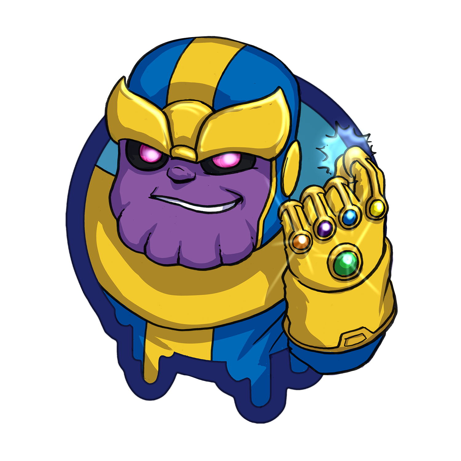 "Thanos - Spotlight Series - Small 2"" Sticker"