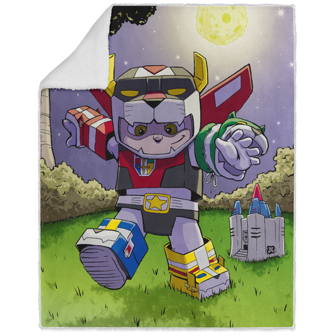 Voltron - Graphic - 50x60 Sherpa Blanket