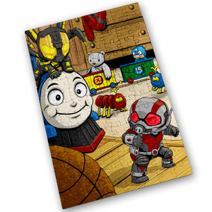Yellow Jacket & Antman - 120 Piece Jigsaw Puzzle