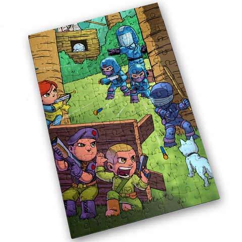 Yo Joe - 120 Piece Jigsaw Puzzle