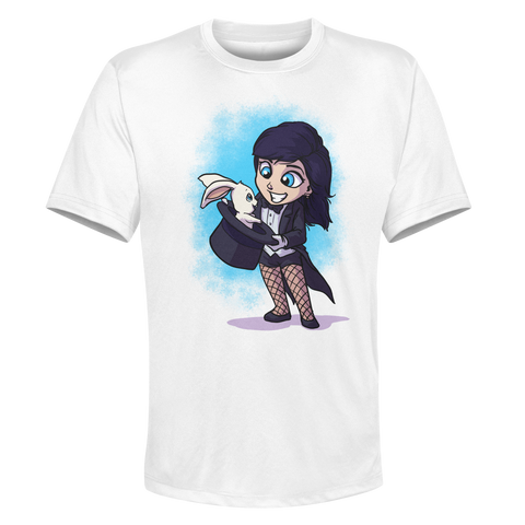 Zatanna - White Performance Graphic Tee
