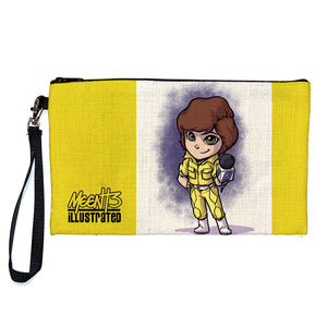 April - Character -Large Pencil/Device Bag